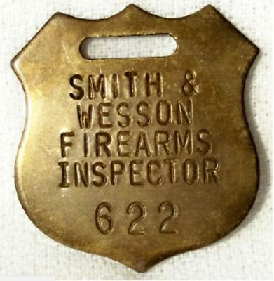 Smith & Wesson Fob Mens Watch chain Gun Jewelry Hunting gun collector shield