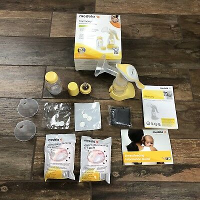 Medela Harmony Manual BREAST PUMP, Portable Single BREAST MILK PUMP, 67186