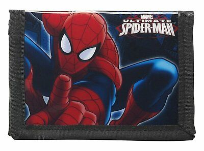 Spiderman Wallet Childrens / Kids Official ultimate Spider-Man Wallet