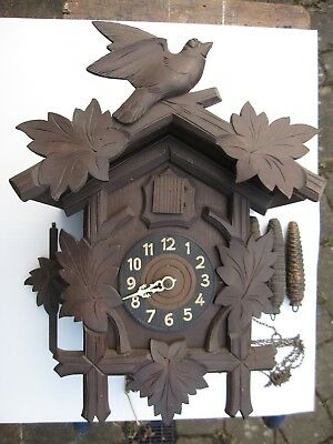 Black Forest Cuckoo Clock - Vintage - service - repair- project