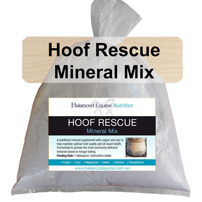 NEW Hoof Rescue Mineral Mix - Carol Layton - Free Shipping