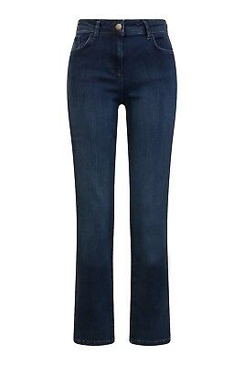 EX M&S 6366 SCULPT & LIFT STRAIGHT LEG JEAN WITH STRETCH Sizes 6-24