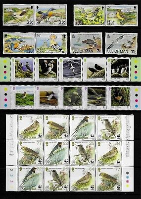 Isle of MAN 1979-2006 BIRD Thematic STAMP Collection ALL Unmount MINT Ref:TS584