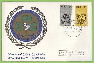 ​Ireland 1969 International Labour Organisation set on First Day Cover