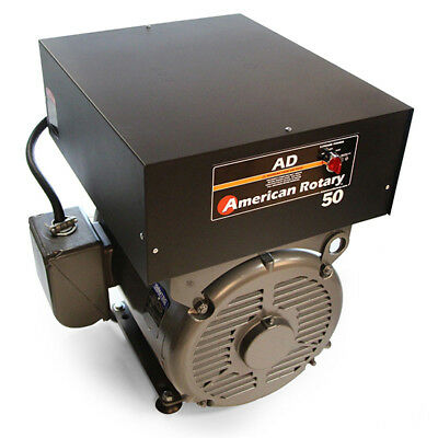 American Rotary AD50FM   Floor Mount AD Series 50HP Rotary Phase Converter 240V