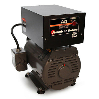 American Rotary AD15FM   Floor Mount AD Series 15HP Rotary Phase Converter 240V