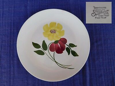 Chloe LUNCHEON PLATE Blue Ridge Southern Pottery  have 100's of Blue Ridge AS-IS