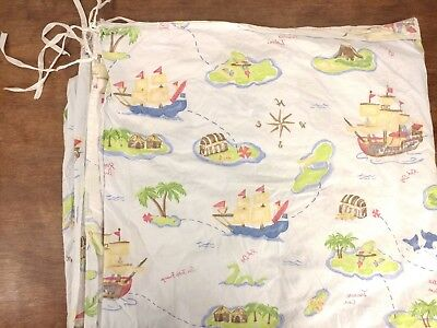 POTTERY BARN KIDS Blue Pirate Ship Treasure Map Duvet Cover Blanket on cruise map, old boston map, blood map, love map, ancient egyptian map, travel map, address map, monster map, money map, forest map, rail map, ocean map, army map, bad map, eso craglorn map, alien map, success map,