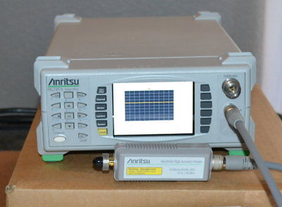 Anritsu ML2487A Wideband Peak Power Meter w/MA2444D 10MHz-40GHz Sensor, Cable