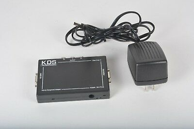Key Digital Systems KD-VTCA3 VGA To Component Adapter Video Converter