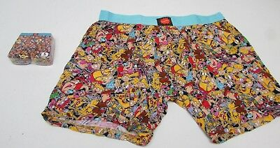 New Nickelodeon Rewind Mob SceneUnder Boss Expanding Boxer Briefs Choose Size