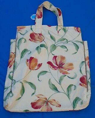 "18""  Shoulder Pillow Bag . Side Gussets With 2 Side Zips  Top Hook & Loop Fast."