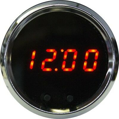"INTELLITRONX MS8009R 2-1/16"" LED Digital Clock Programmable w/ (2) Push Buttons"