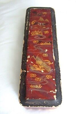 Oriental Style Lacquered Jewellery Box