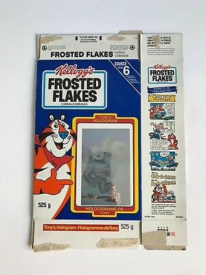 Kellogg's Frosted Flakes Cereal Tony the Tiger Basketball Hologram Canadian