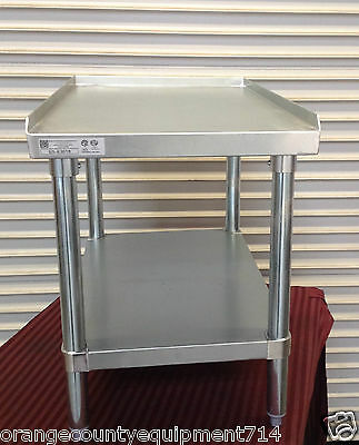 NEW 18 X 30 Equipment Stand #2083 Griddle Hot Plate Table Stainless Steel NSF