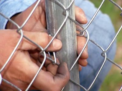 Galvanized Chain link wire mesh fence 1.83m*15m*65mm*65mm*2.5mm,$90/roll