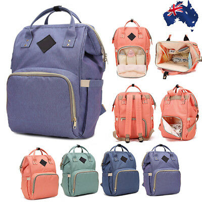 Multifunctional Large Baby Diaper Nappy Backpack Waterproof Mummy Changing Bag