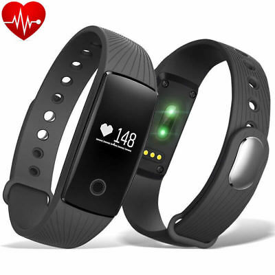 OROLOGIO SMARTWATCH CARDIOFREQUENZIMETRO FITNESS BAND ANDROID iOS TRACKER SPORT