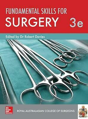 Fundamental Skills for Surgery 3e by Royal Australasian College of Surgeons Pape