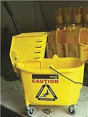 Appeal® Mop Bucket Combination With Side Press, 35-Quart Capacity