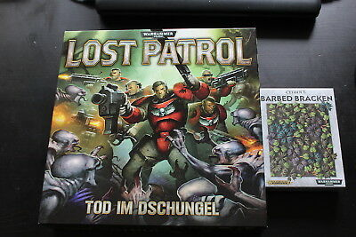 Warhammer 40K: Lost Patrol deutsche Ausgabe (Blood Angels) + 144 Barbed Bracken