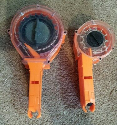 Lot Of 2 Nerf N Strike 35 Round Drum Plus Extra
