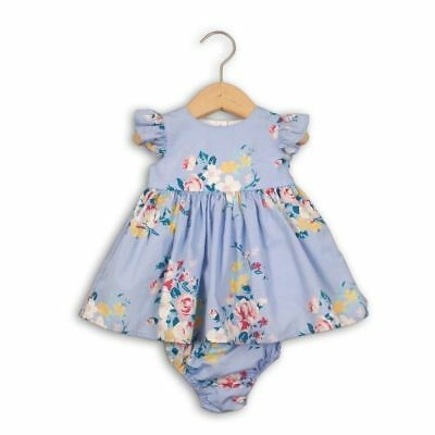 Baby girls floral summer dress and knickers 0-3-6-9-12-18-24 months