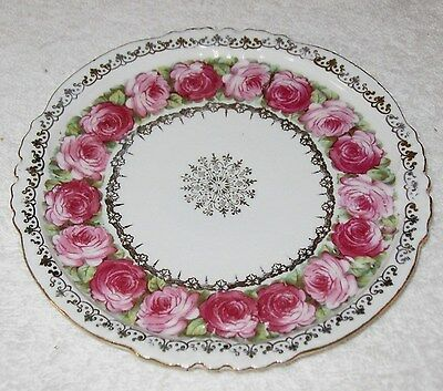 Antique/Vintage Prov Sace E.S. Germany Schlegelmilch Hand Painted China Plate 6""
