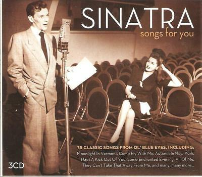 Frank Sinatra Songs For You 3 Cd Set - 75 Classic Songs From Ol' Blue Eyes