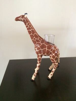 Partylite AFRICAN GIRAFFE VOTIVE HOLDER