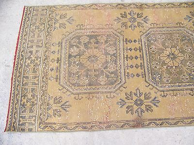 Decorative Oushak Runner Rug, Kitchen Runner Rug, 2'9''x 10'2'' - Oushak Rugs