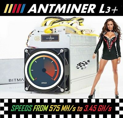 ✩ Antminer L3+ Rental ( Scrypt Crypto Mining Rent / Try / Lease ) 575MH/s ✩