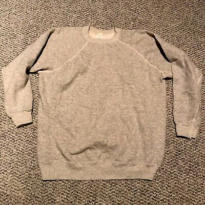 Vintage 50's Southern Athletic Heather Gray Sweatshirt Small