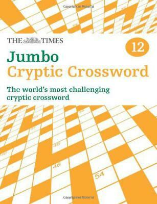 The Times Jumbo Cryptic Crossword Book 12 (Crosswords) by Browne, Richard | Pape