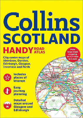 Collins Handy Road Atlas Scotland, Collins Maps