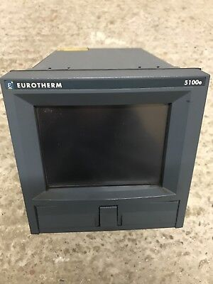 Eurotherm 5100e Graphic Data Acquisition Recorder.