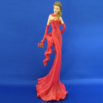 An Evening at the Opera Lady Figurine Heart of Life Hamilton Collection