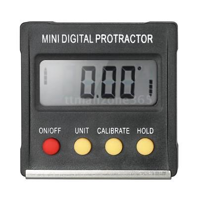 LCD Digital Protractor Inclinometer Level Gauge Angle Finder Magnetic Base N7Z8