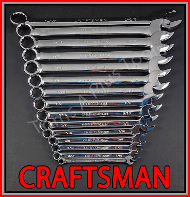 Craftsman Full Polish 12 Point SAE Long Pattern Standard Combination Wrench Inch 5//8 45979