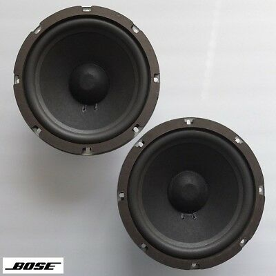 """early version BOSE 301 8"""" woofers with new surrounds—US-made, CTS c.1976—superb"""