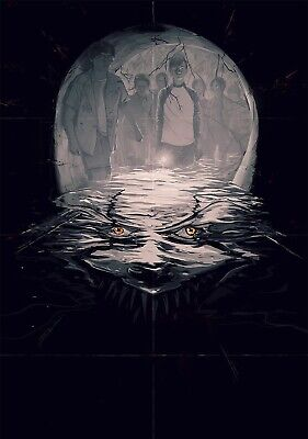 IT Movie PHOTO Print POSTER 2017 Textless Art Pennywise Stephen King IMAX Film 5