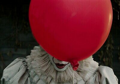 IT Movie PHOTO Print POSTER 2017 Textless Art Pennywise Stephen King IMAX Film 9
