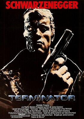 TERMINATOR Movie PHOTO Print POSTER Classic Film Art Arnold Schwarzenegger 005