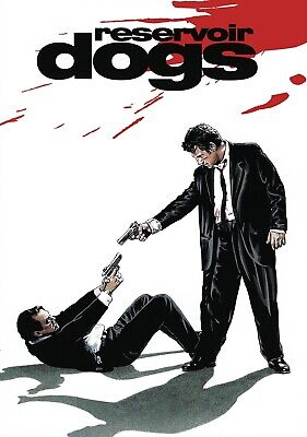 RESERVOIR DOGS TARANTINO CULT CLASSIC MOVIE POSTER Poster A0 A1 A2 A3 ZZ074