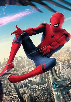 SPIDER-MAN; HOMECOMING Movie PHOTO Print POSTER Tom Holland Marvel Iron Man 012