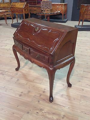 Fore antique furniture secretary desk wooden mahogany dresser chest of drawers