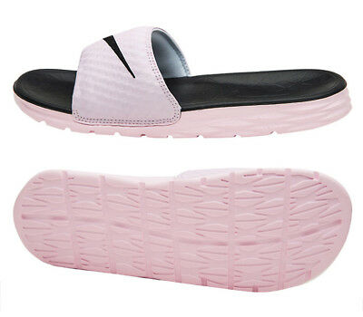 detailed look 320bd 8a41d NIKE WOMEN'S BENESSI Solar Soft Slides (705475-602) Sports Sandals Slippers
