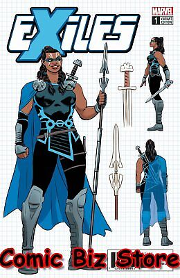 Exiles #1 (2018) 1St Printing Scarce 1:10 Rodriguez Design Variant Cover Marvel