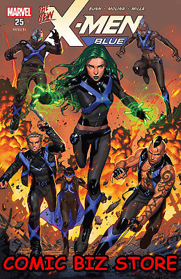 X-Men Blue #25 (2018) 1St Printng Bagged & Boarded Marvel Legacy Tie-In ($4.99)